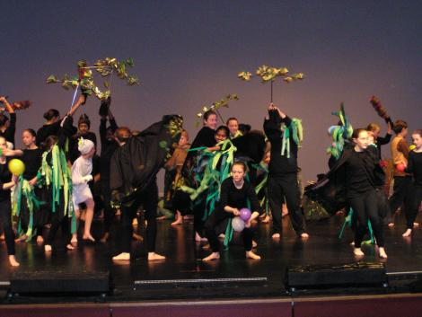 Children from Years 3 to 6 are able to perform in a story-dance competition called Wakakirri which is performed each alternate year at the Frankston Arts Centre.